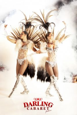 Believe it or not sexy girls have in this show just a feather! And you absolutely have to see it! Spellbinding show with beautiful costumes. Let yourself get tickled by the hot Prague's dancers!