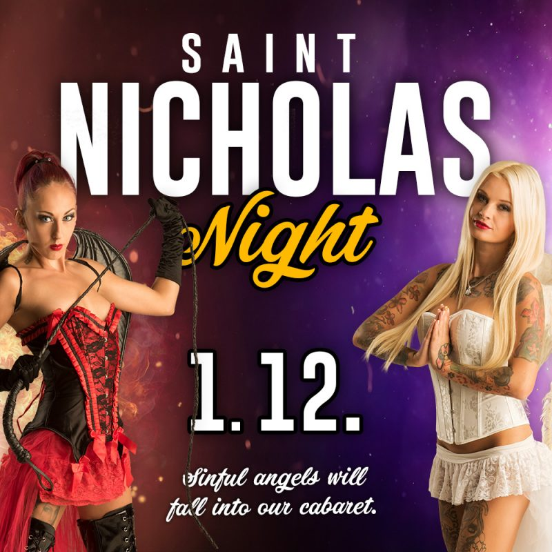 st.nicholas, night, party, poster, prague, darling